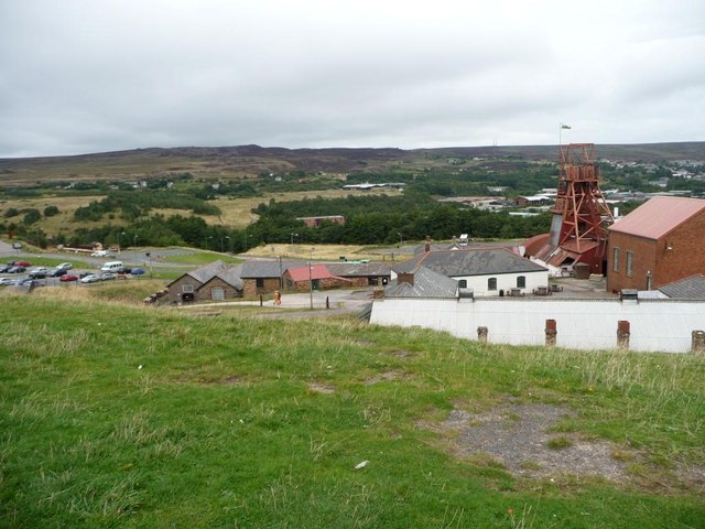 Northern part of the Big Pit site
