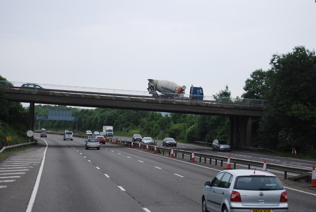 A224 bridge, M25