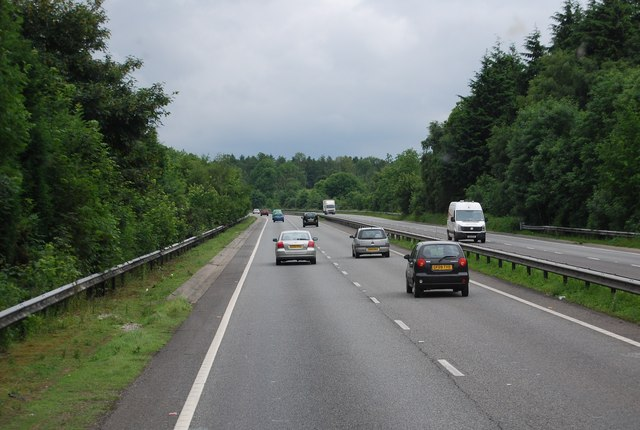 A21, southbound