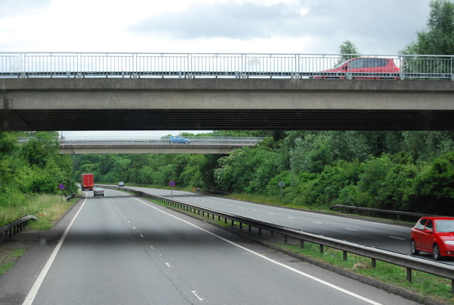 Morley Road bridges, A21, southbound