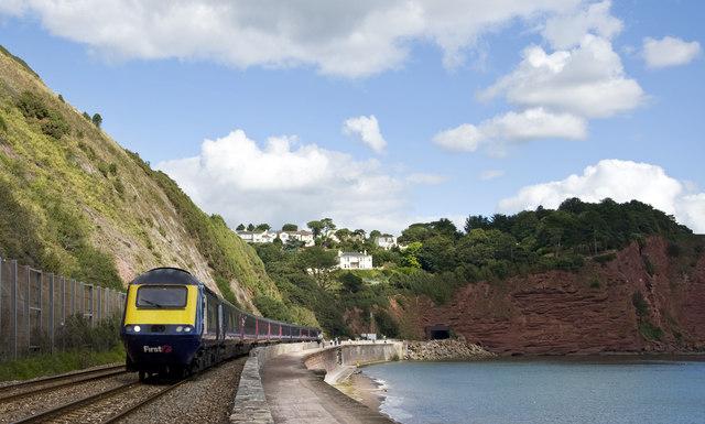 Railway and Coastal Path