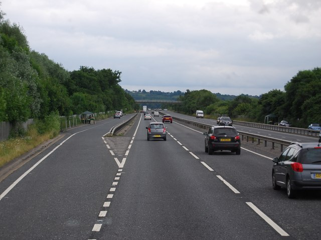Layby, A21, southbound