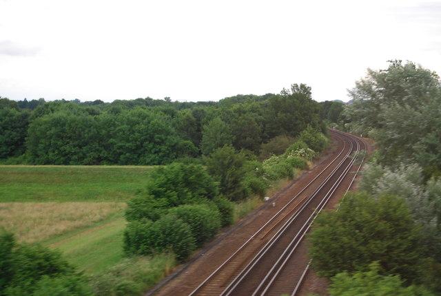 Redhill to Tonbridge Line