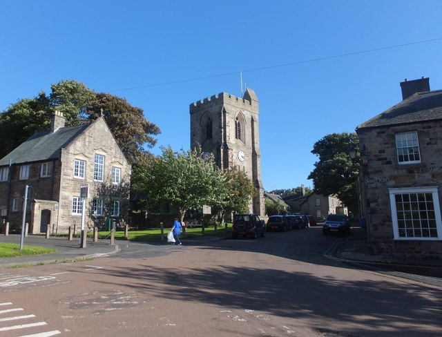 Rothbury on a sunny afternoon