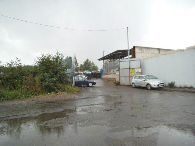 Monmore Road Scrap Yard