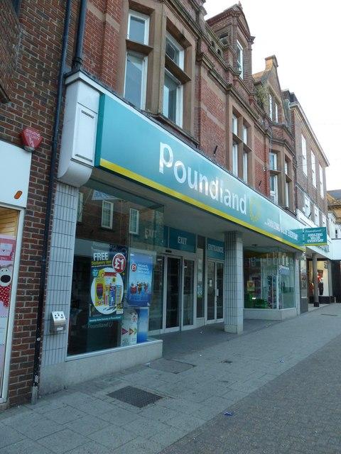 Poundland, South Street