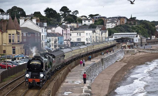 Steam at Dawlish