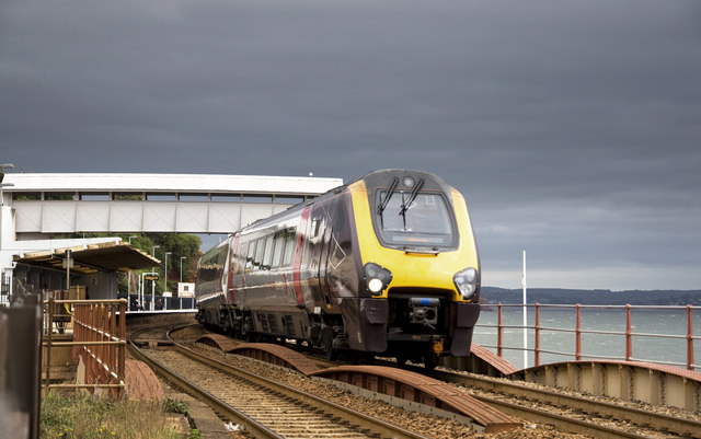 Railway at Dawlish