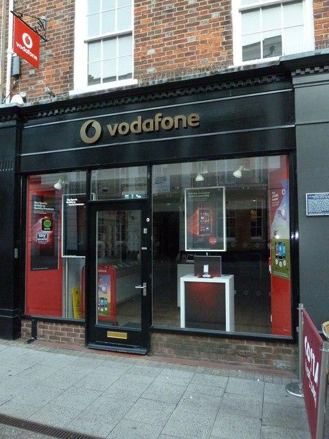 Vodafone, Cornhill