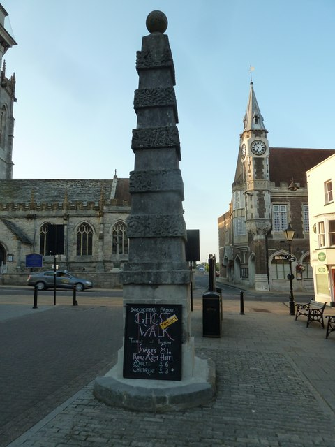 Looking from Cornhill into the High Street