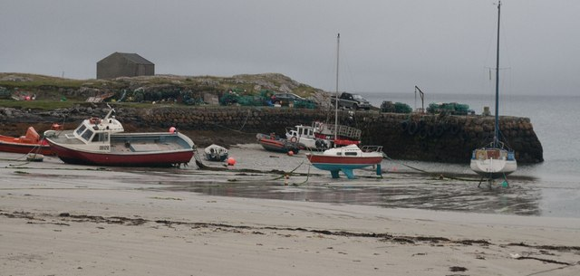 Old Harbour, Scarinish, Tiree
