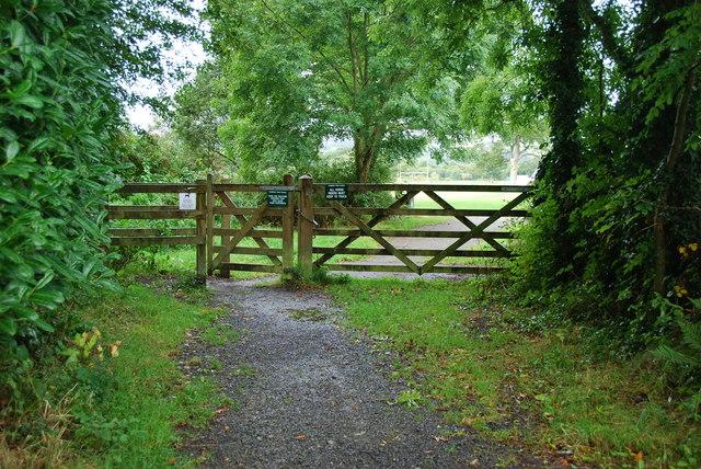 Entrance to Filham Park
