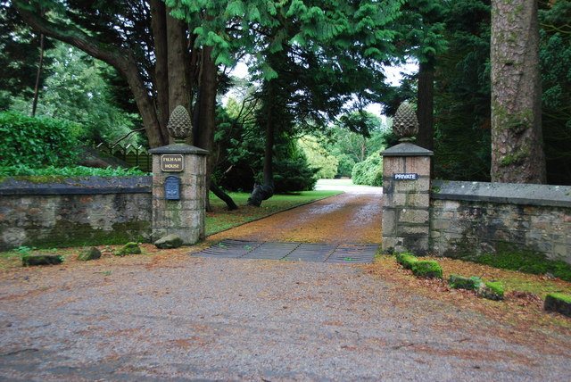 Entrance to Filham House