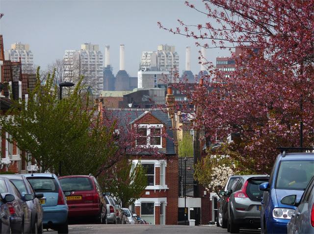 View from Kestrel Avenue