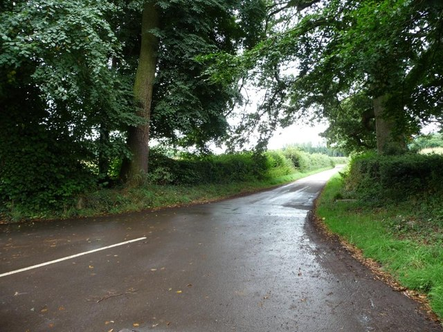 The road to the A4042