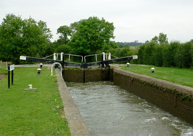 Pywell's Lock north-east of Fleckney, Leicestershire