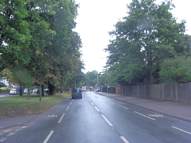 Peppard Road east of Newlands Avenue
