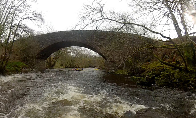 Loy bridge from the water