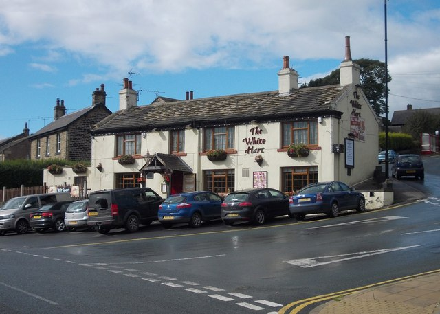 """""""The White Hart"""", Denby Dale"""