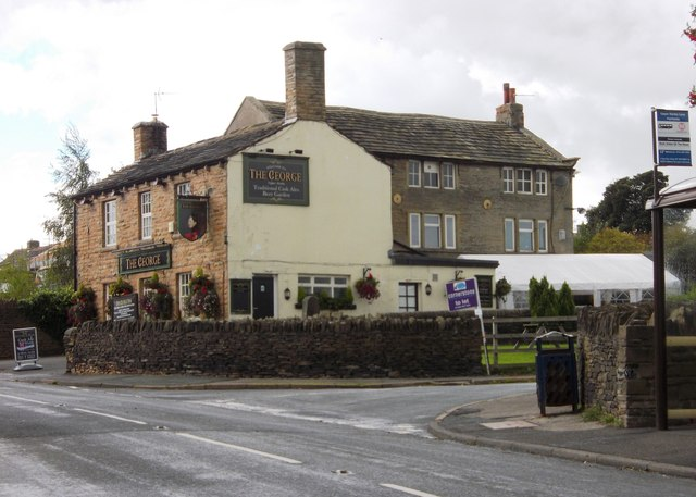 """""""The George"""" in Upper Denby"""