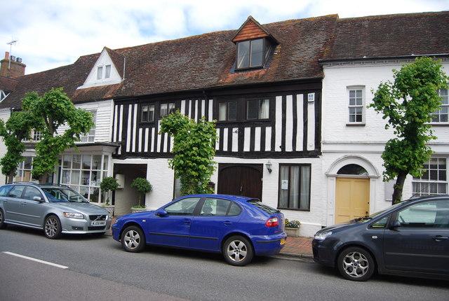 Mock Tudor, Burwash