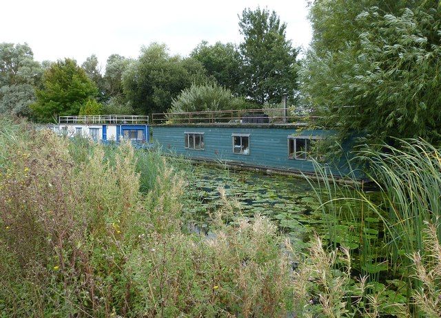Houseboats on the Chichester Ship Canal