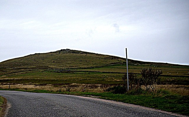 View of Meikle Cairn