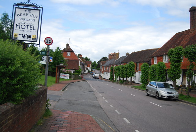 Burwash High St