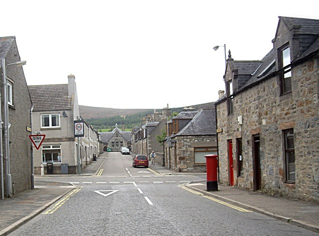 School at the west end of Macduff Place, Dufftown