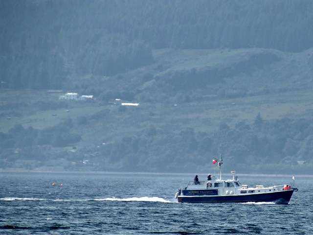 Seatrek Training vessel in the Firth of Clyde