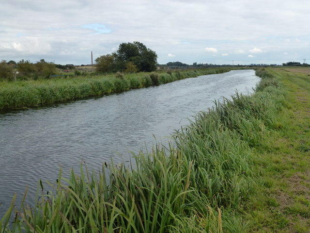 King's Dike drain near Whittlesey