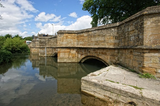 Bridge over the River Windrush, Burford