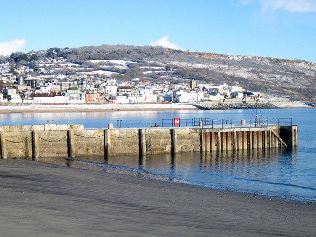 Lyme Regis in winter