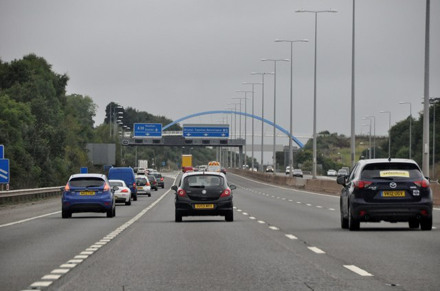 Exeter District : The M5 Motorway