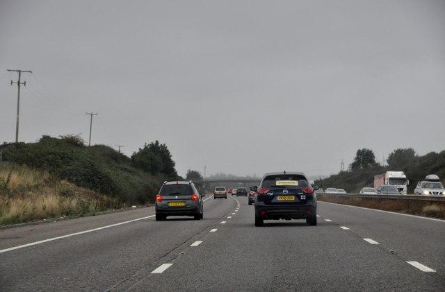 East Devon : The M5 Motorway