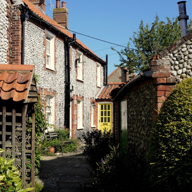 Cottages in Blakeney