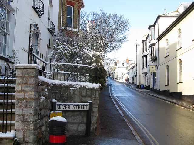 Silver Street in winter