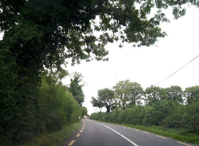 The N52 approaching the village of Clonmellon, Co Westmeath