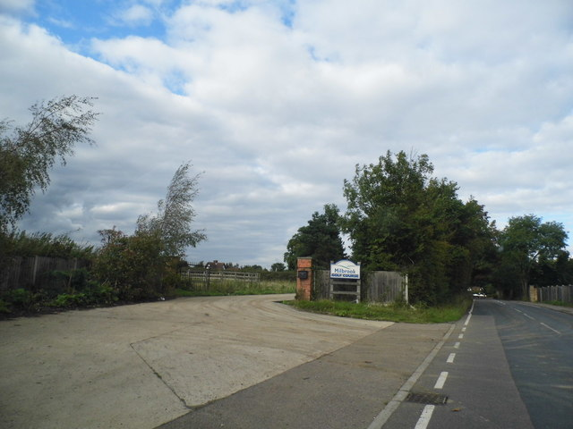 The entrance to Milbrook Golf Course on Carbone Hill