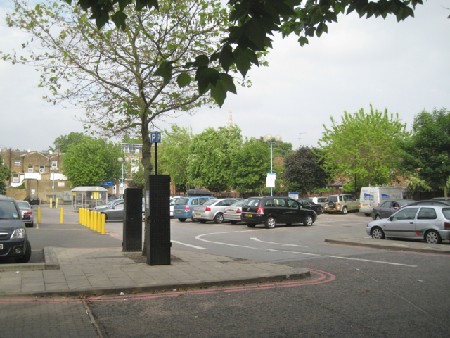Morrisons car park off Wren Road, Camberwell Green