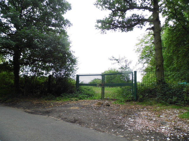 Gate on Coopers Lane Road