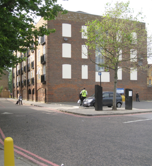 The Colonnades flats, 8 Wren Road, Camberwell Green