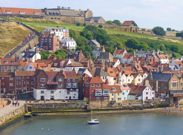 Eastside of River Esk, Whitby
