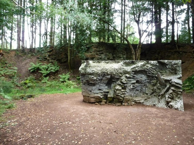 Former quarry on the Beechenhurst Sculpture Trail