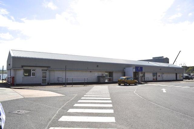 St Ola Pier Terminal Building, Scrabster Harbour, Scrabster