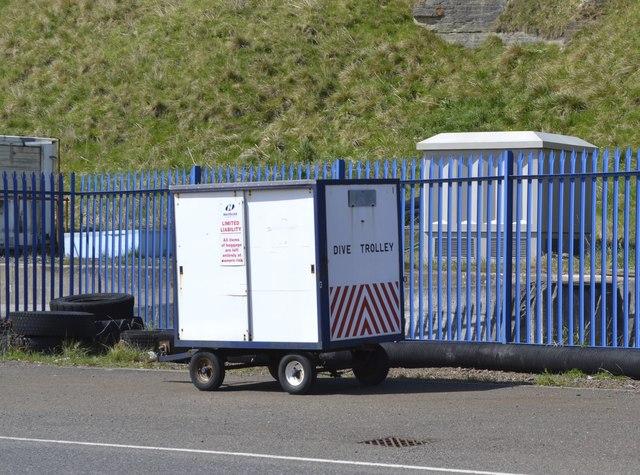 Dive Trolley, Scrabster Harbour, Scrabster