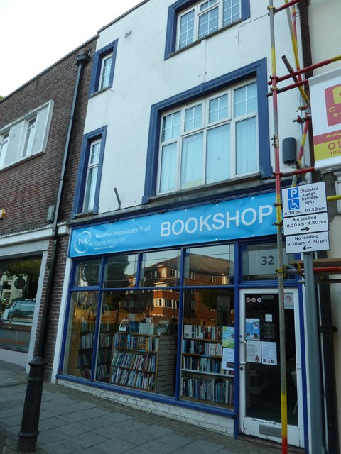 Charity bookshop in South Street
