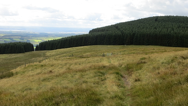 Path on Commonedge Hill