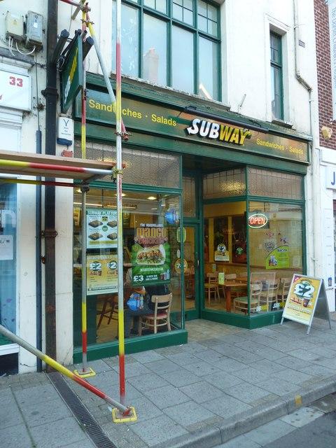 Subway, South Street