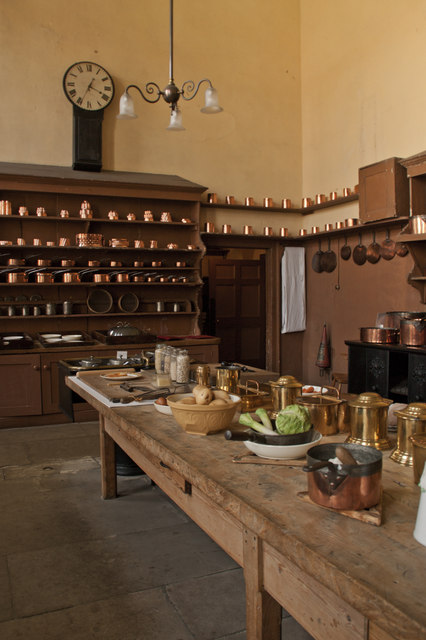 The Kitchen at Petworth House